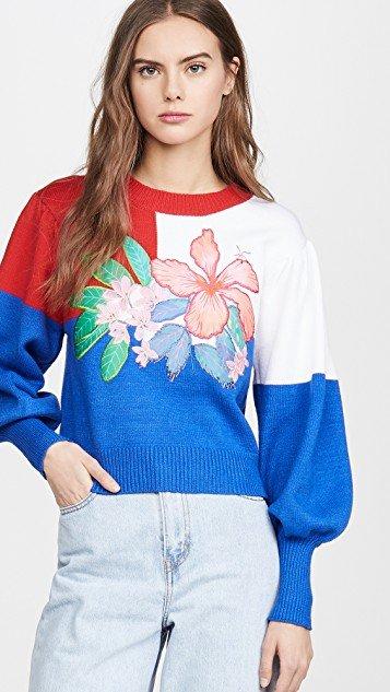 Farm Floral Sweater