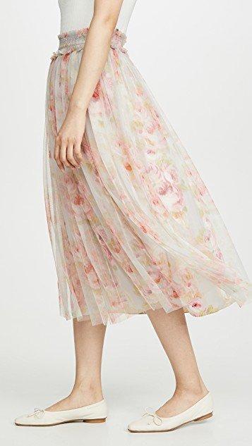 Ruby Bloom Smocked Ballerina Skirt