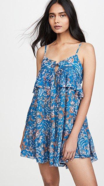Take Me With You Ruffle Dress