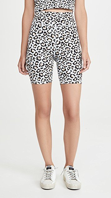 Ice Leopard Dance Shorts