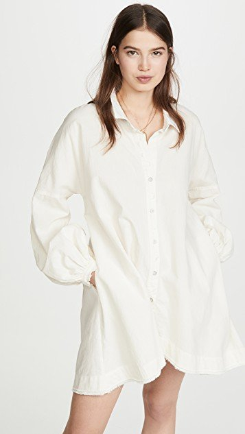 Whistler Button Down Dress