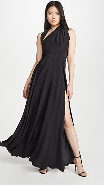 Gown with Slit