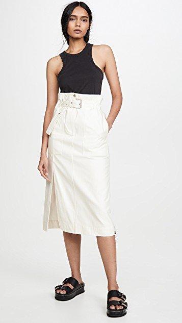 Betled Cargo Midi Skirt
