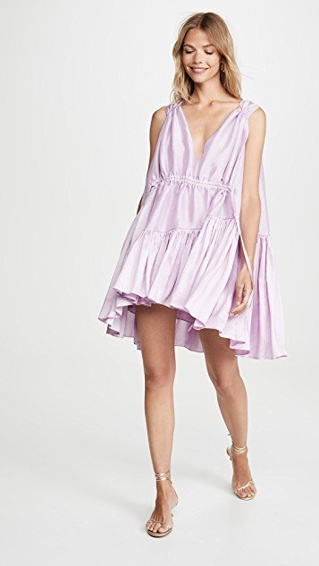 Nella Drawstring Mini Dress