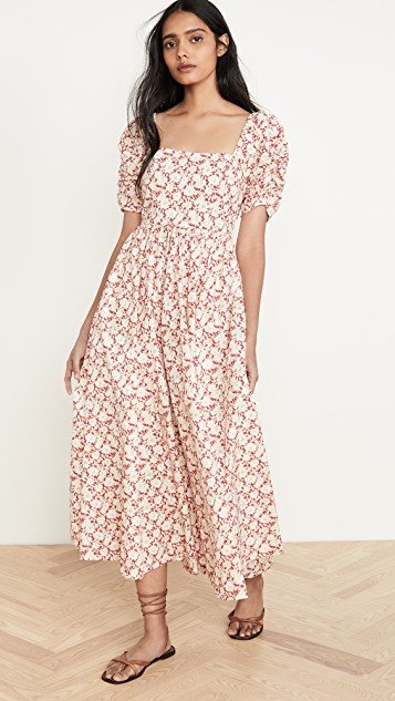 She\'s A Dream Midi Dress