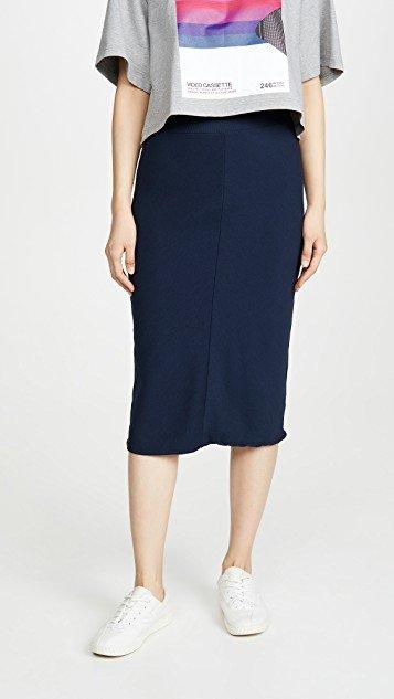 Rib Chevron Skirt
