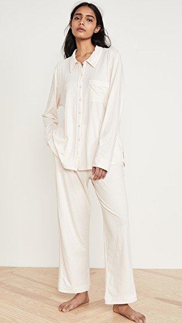 Paulina Long-Sleeve PJ Set