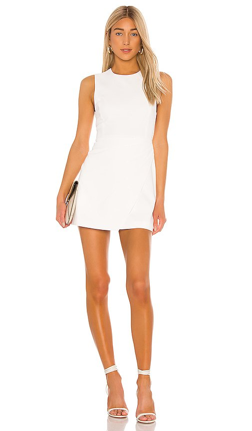 Kelsey Asymmetrical Drape Dress