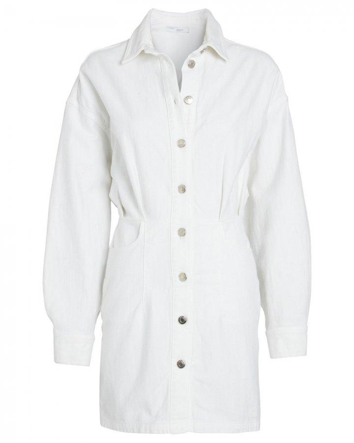 Raffa Denim Mini Shirt Dress