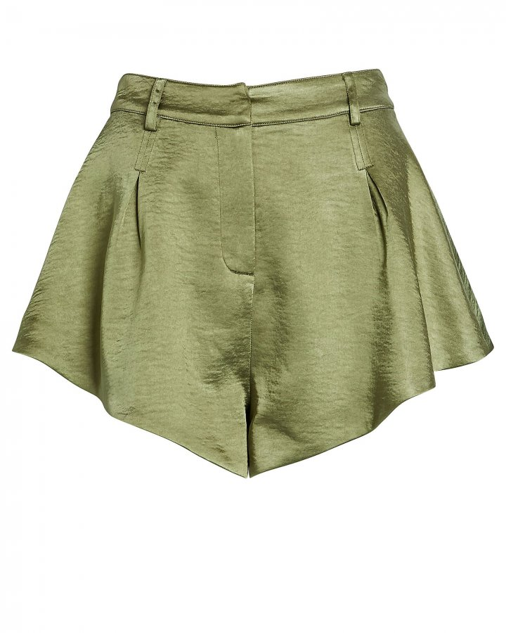 Wanderlust Satin Shorts