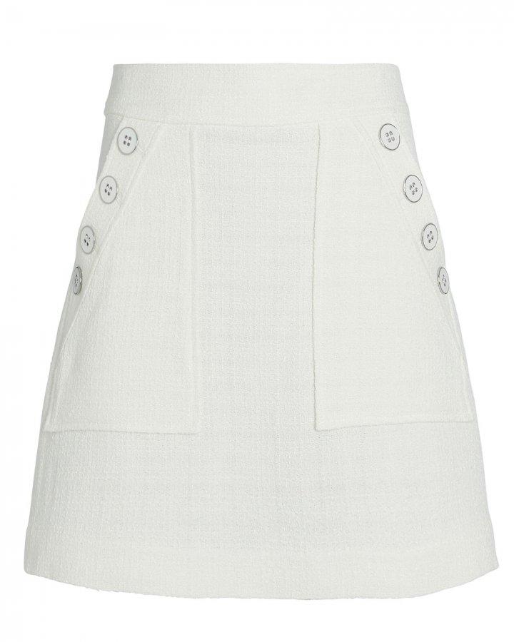 Bond Tweed Mini Skirt