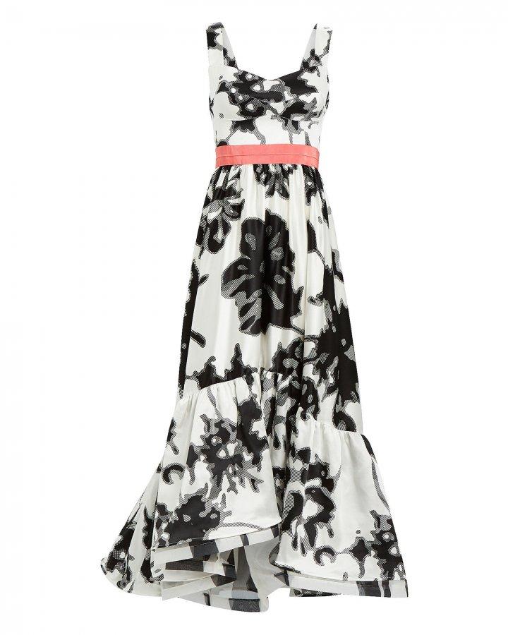 Elvira Floral Swing Dress