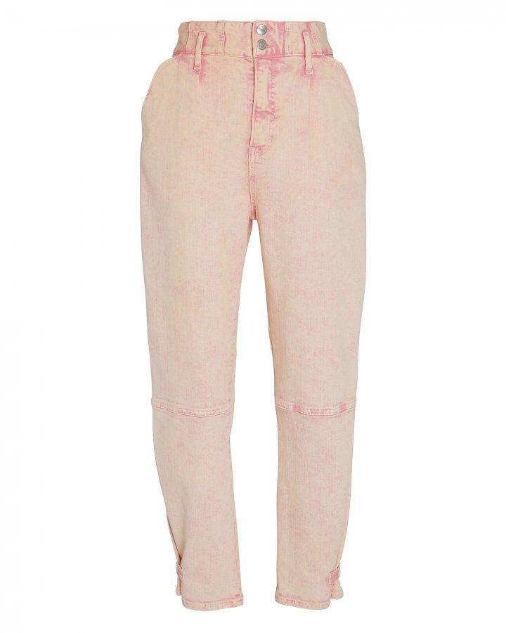 Monika Tapered Acid Wash Jeans