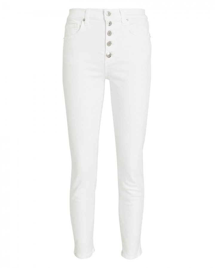 Debbie Cropped High-Rise Jeans