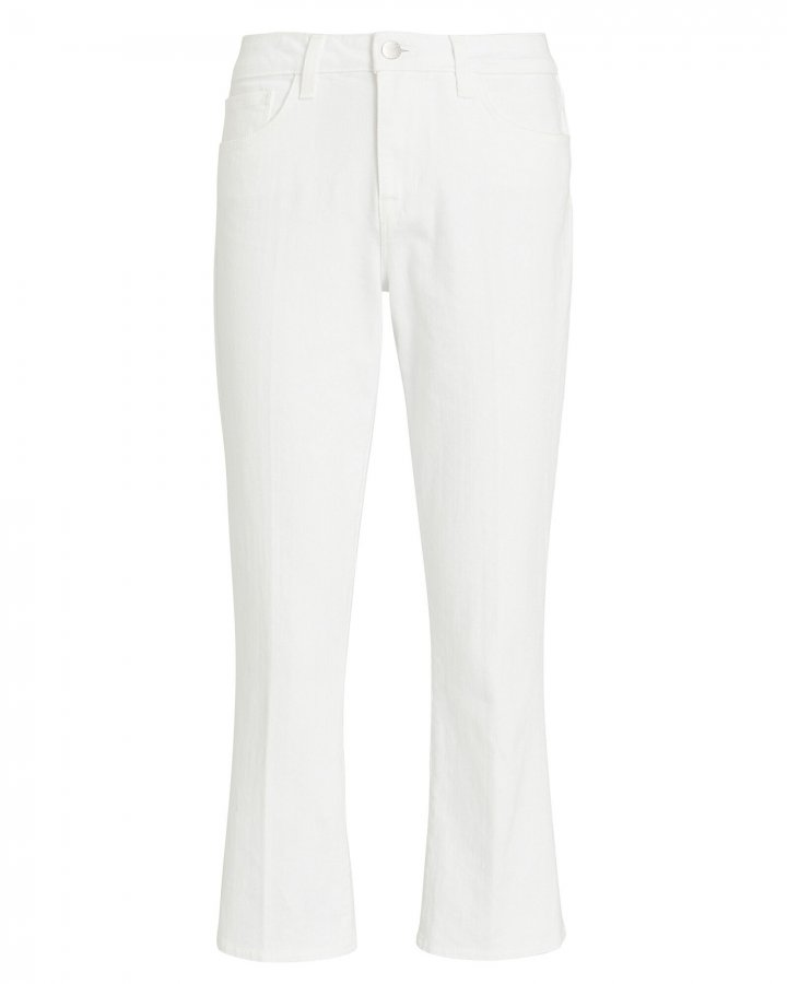 Nadia Cropped High-Rise Jeans