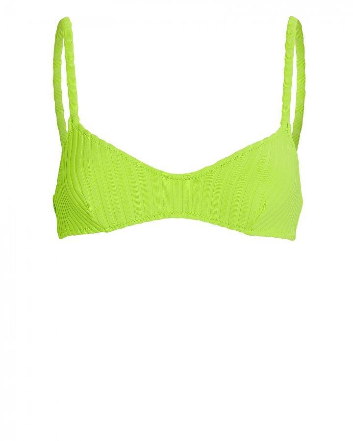 Rachel Ribbed Bikini Top