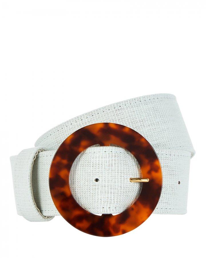 Louise Linen Waist Belt