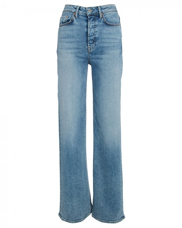 Carla High-Rise Flared Jeans