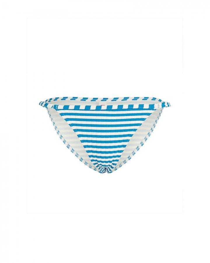Lulu Striped Bikini Bottoms