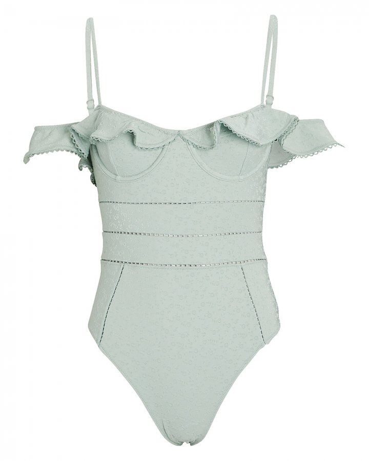Irving Eyelet One-Piece Swimsuit