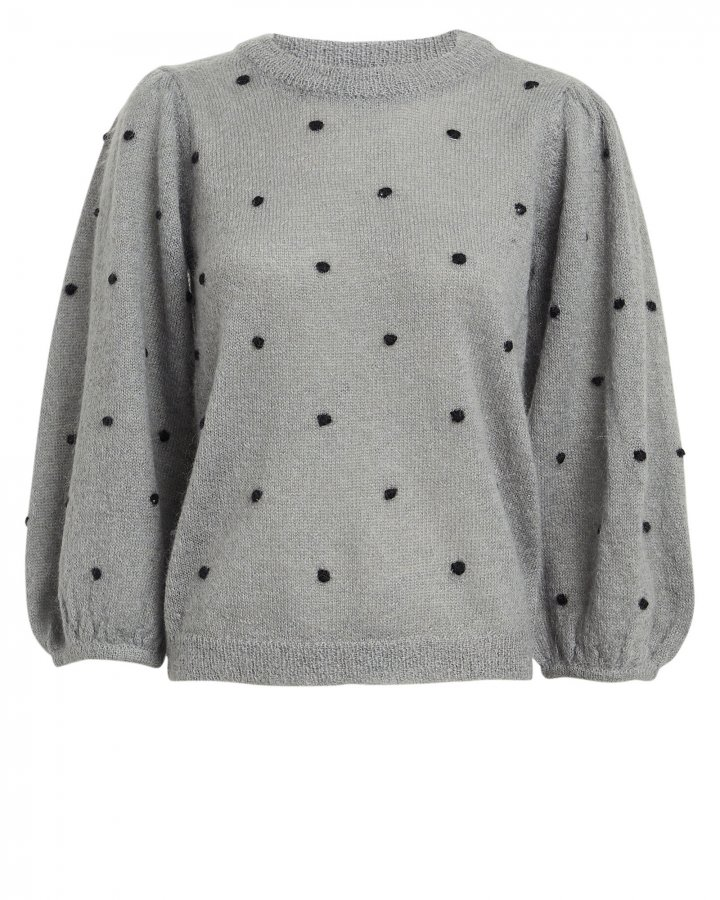 Dionna Polka Dot Sweater