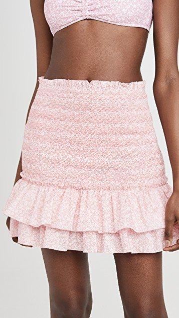 Sydney Floral Smocked Skirt