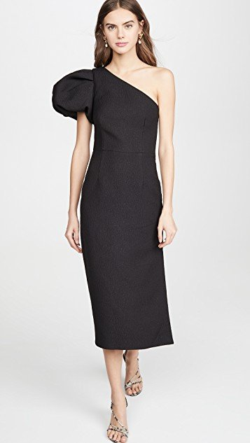 Natalia One Sleeve Midi
