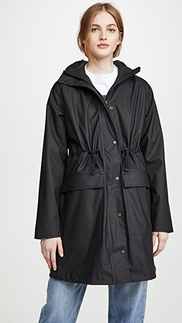 Lightweight Rubberized Parka