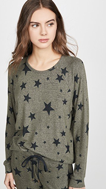 Weekend Warrior Star PJ Top