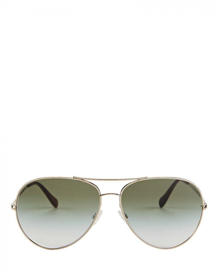 Sayer Oversized Aviator Sunglasses