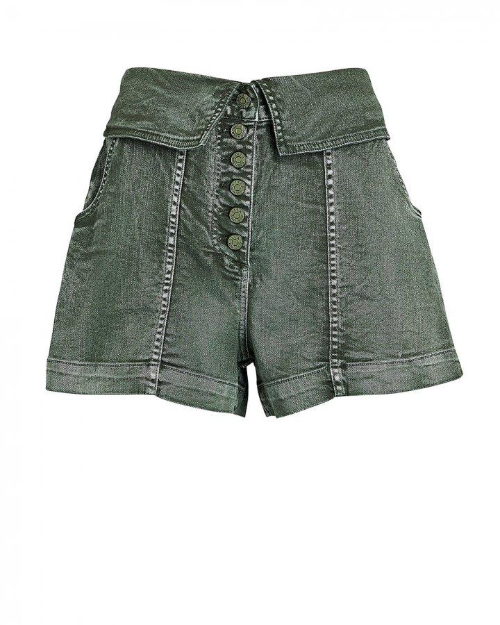 Kase Army Denim Shorts
