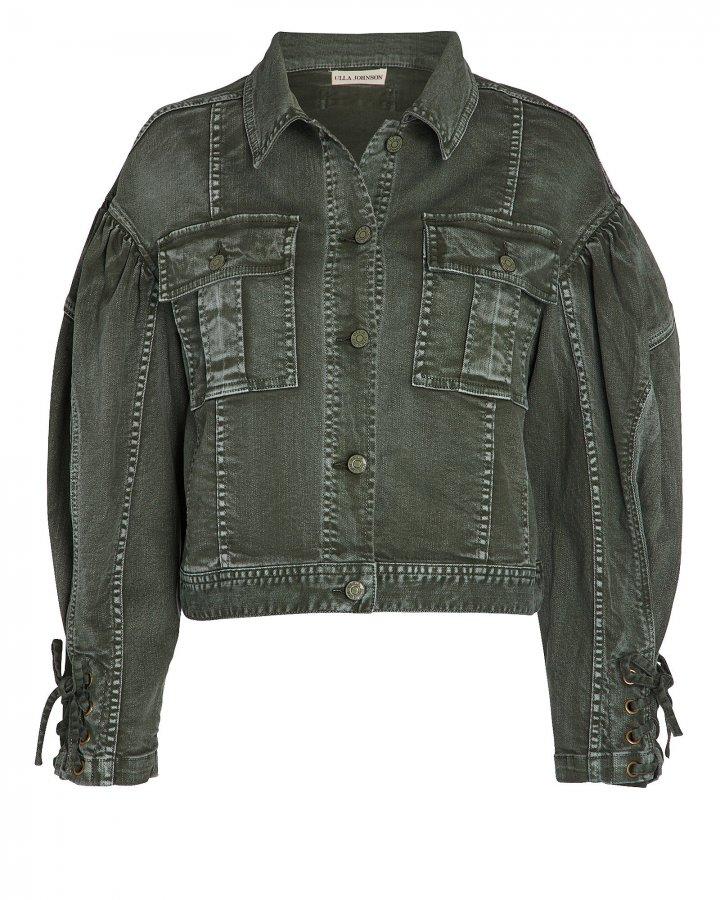 Atticus Cropped Denim Jacket