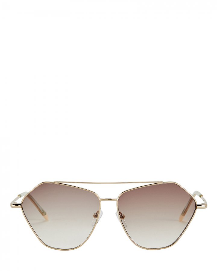 Dweller Metal Frame Rounded Sunglasses