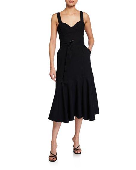 Sabrina Belted Dress