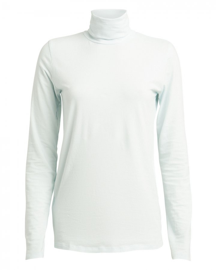 Slim Fit Cotton Turtleneck