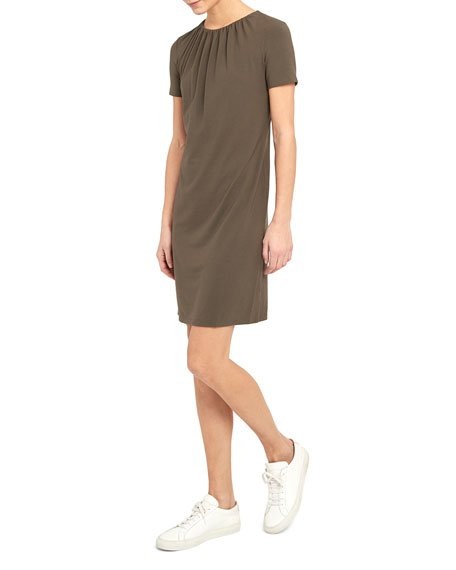 Gather Tee Dress