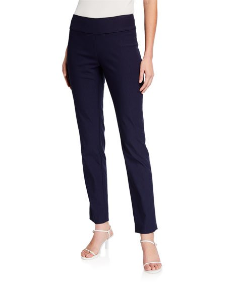 Petite Wonderstretch Straight-Leg Pants