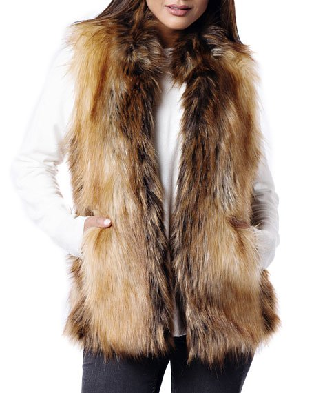 Limited Edition Faux-Fur Vest - Inclusive Sizing