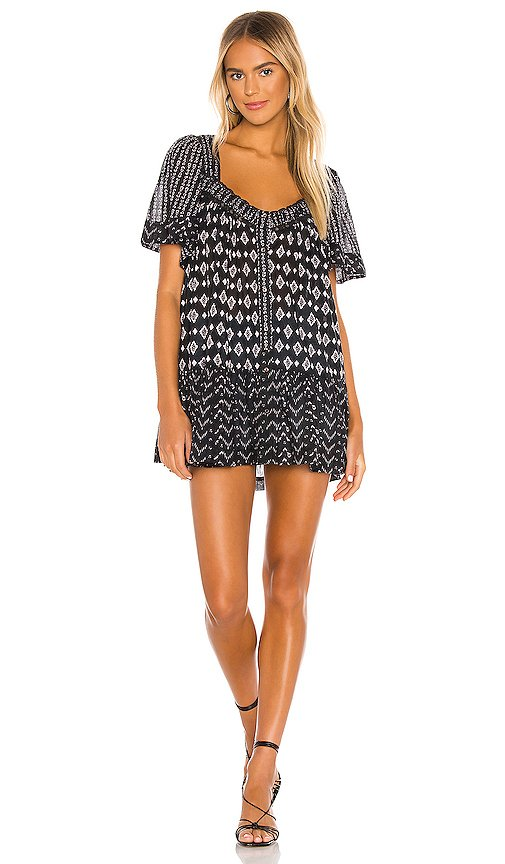 Hearts Desire Printed Mini Dress