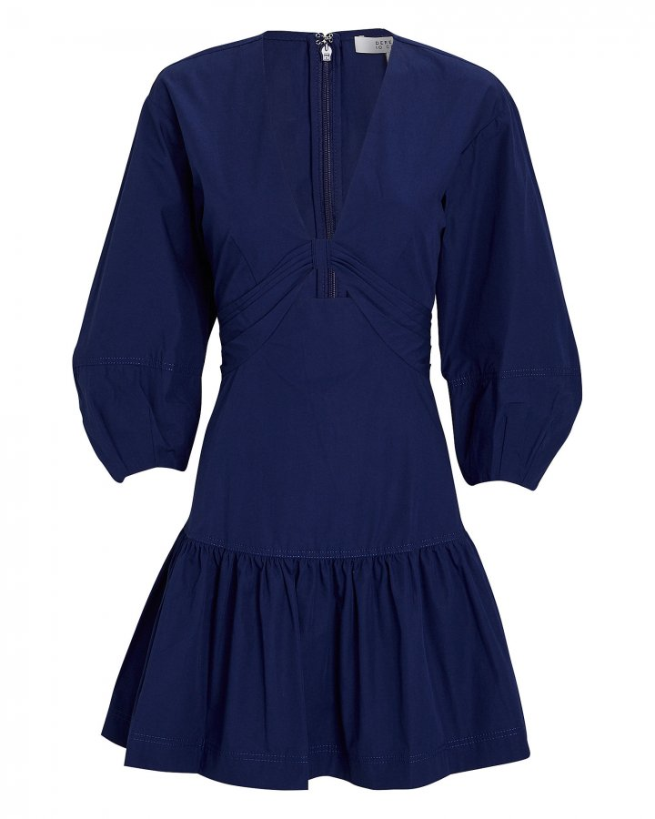 Talia Twisted Mini Dress