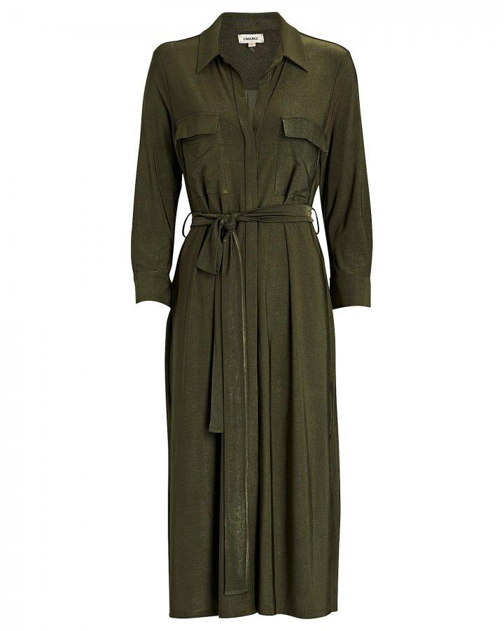 Rivi Jersey Shirt Dress