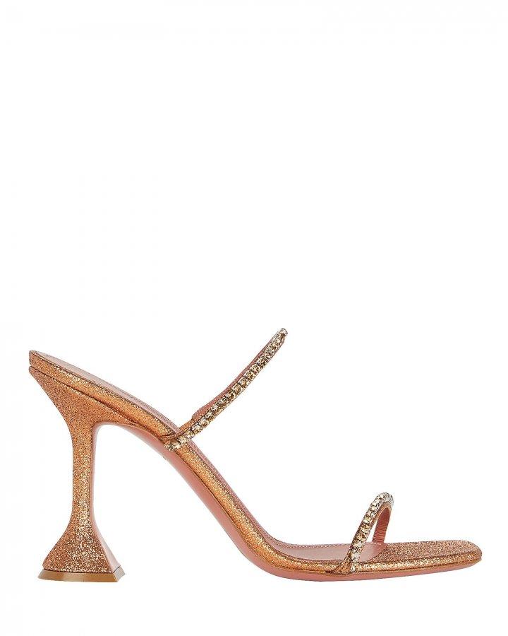 Gilda Glitter Slide Sandals