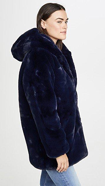 Marie Faux Fur Coat