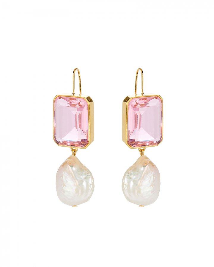 Aegean Pearl Drop Earrings