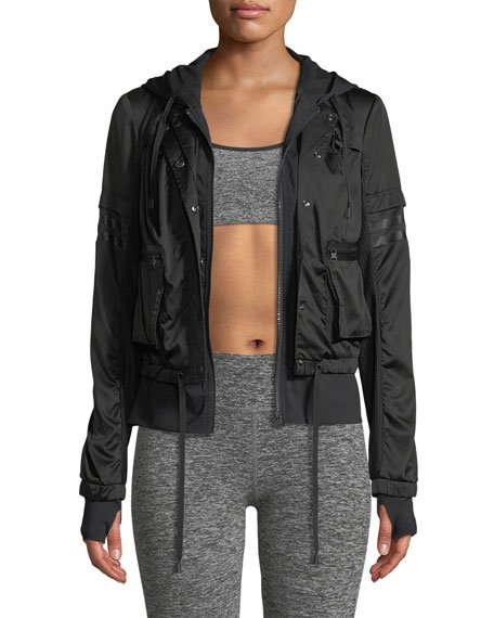 Skyfall Hooded Bomber Jacket