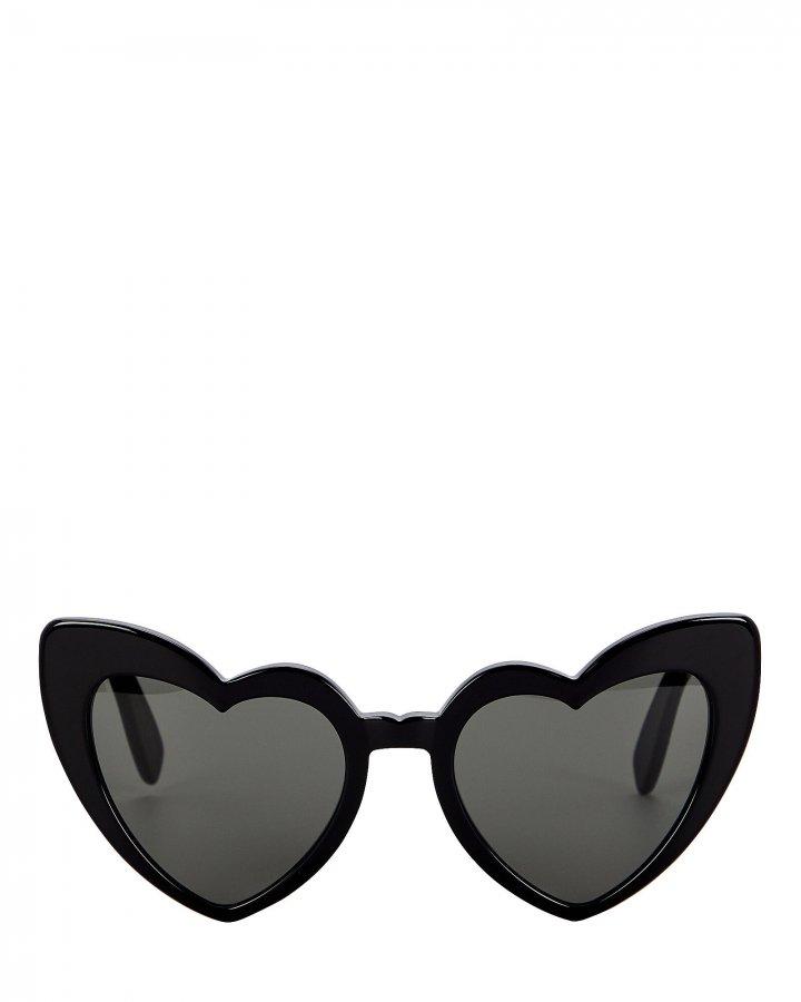Loulou Heart-Shaped Sunglasses