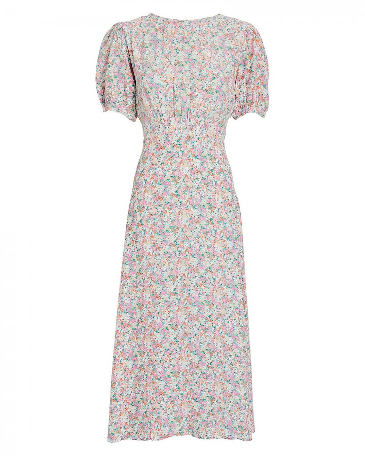 Beline Floral Midi Dress
