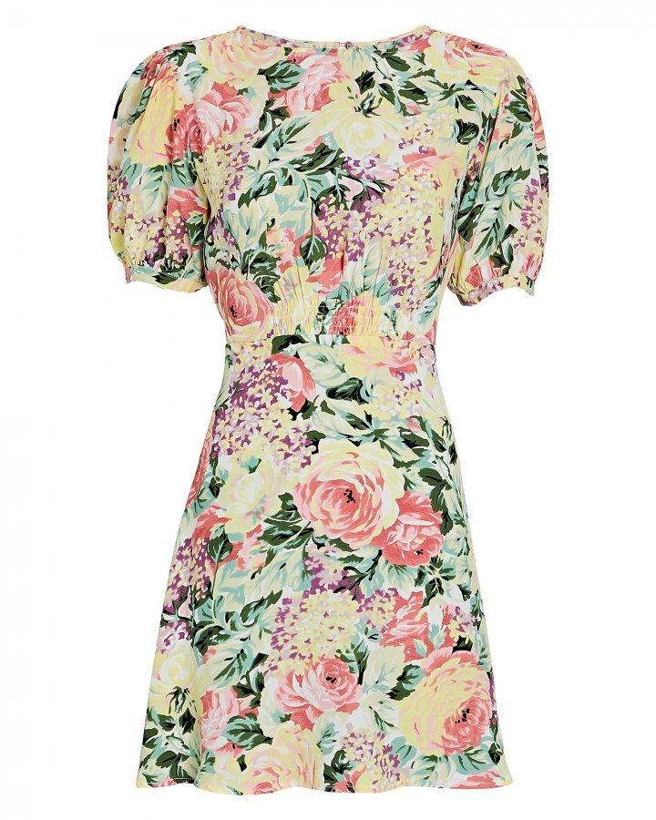 Sidonie Floral Knee-Length Dress