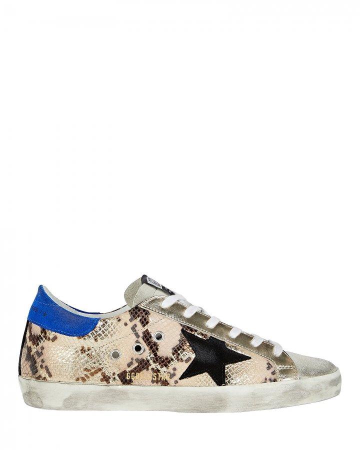 Superstar Low-Top Embossed Sneakers