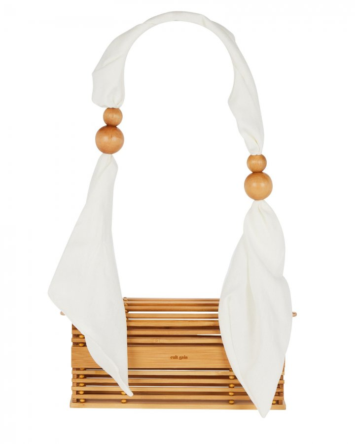 Sylva Bamboo Scarf Handle Bag